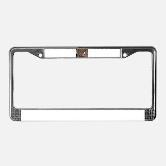 Who me? License Plate Frame