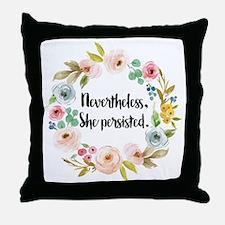 Elizabeth warren Throw Pillow