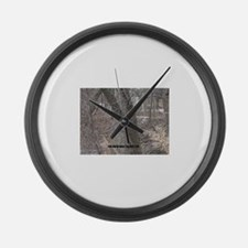 you know Large Wall Clock