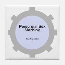 Personnal Sex Machine Tile Coaster