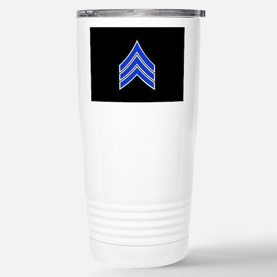 Police Sergeant (Blue) Travel Mug