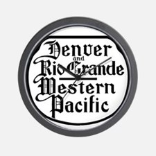 Denver and Rio Grande railway Wall Clock
