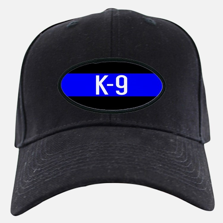 Police K-9 (Thin Blue Line) Baseball Hat