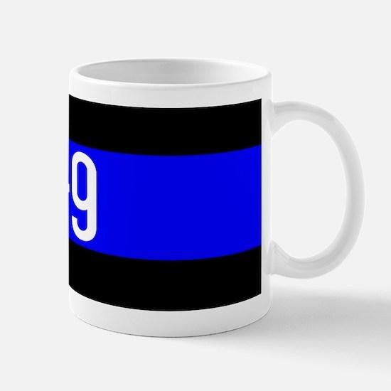 Police K-9 (Thin Blue Line) Mug