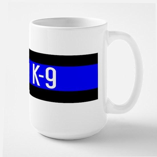 Police K-9 (Thin Blue Line) Large Mug