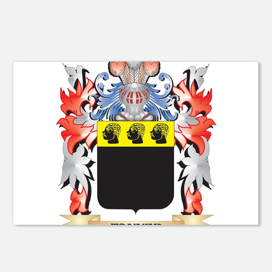 Tanner Coat of Arms - Fam Postcards (Package of 8)