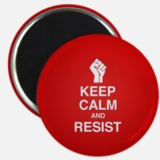 Keep Calm and Resist Magnets