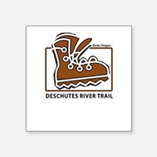 Deschutes River Trail Rectangle Sticker