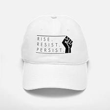 Rise. Resist. Persist. Baseball Baseball Cap