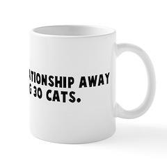 I am one bad relationship awa Mug