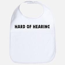 Hard of hearing Bib