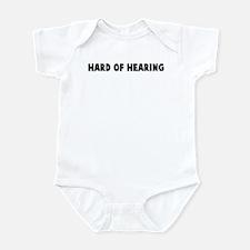 Hard of hearing Infant Bodysuit