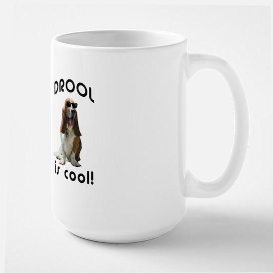 Drool is cool! Large Mug