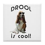 Basset hound Drink Coasters