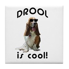 Drool is cool! Tile Coaster