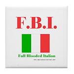 Full Blooded Italian Tile Coaster