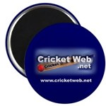"Cricket Web 2.25"" Magnet (10 pack)"