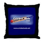 Cricket Web Throw Pillow