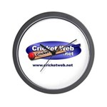 Cricket Web Wall Clock