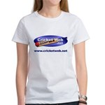 Cricket Web Women's T-Shirt