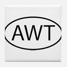 AWT Tile Coaster