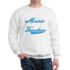Music Teacher Blue Sweatshirt