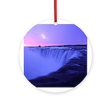 Niagara Sunrise Ornament (Round)
