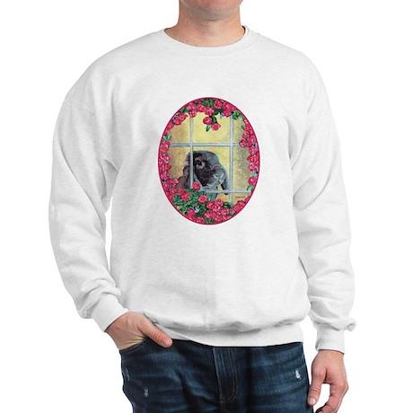 Lop Bunny & Flowers Sweatshirt