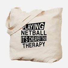 Awesome Netball Player Designs Tote Bag