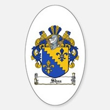 Shea Coat of Arms Oval Decal