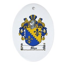 Shea Coat of Arms Oval Ornament