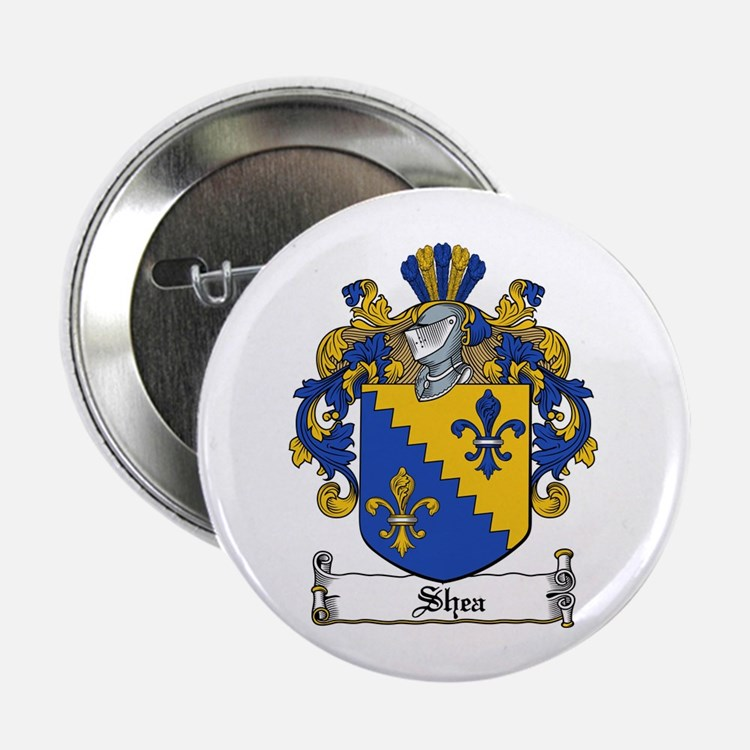 """Shea Coat of Arms 2.25"""" Button (100 pack)"""