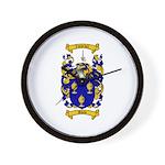 Shaw Coat of Arms Wall Clock