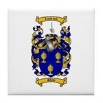Shaw Coat of Arms Tile Coaster