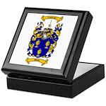 Shaw Coat of Arms Keepsake Box