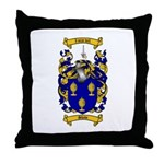 Shaw Coat of Arms Throw Pillow