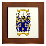 Shaw Coat of Arms Framed Tile