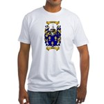 Shaw Coat of Arms Fitted T-Shirt