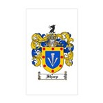 Sharp Coat of Arms Rectangle Sticker