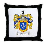 Sharp Coat of Arms Throw Pillow