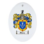 Sharp Coat of Arms Oval Ornament