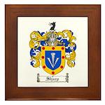Sharp Coat of Arms Framed Tile