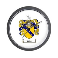 Scott Coat of Arms Wall Clock