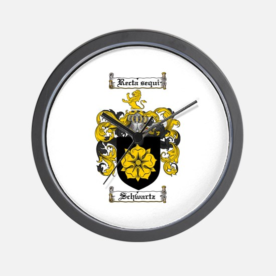 Schwartz Coat of Arms Wall Clock