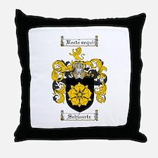 Schwartz Coat of Arms Throw Pillow