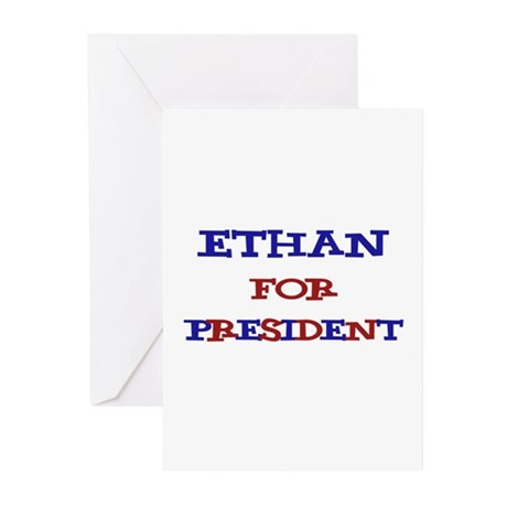 Ethan for President Greeting Cards (Pk of 10)