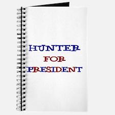Hunter for President Journal