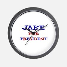 Jake for President  Wall Clock