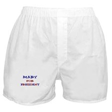 Mary for President Boxer Shorts