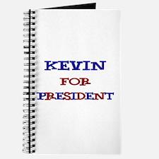 Kevin for President Journal
